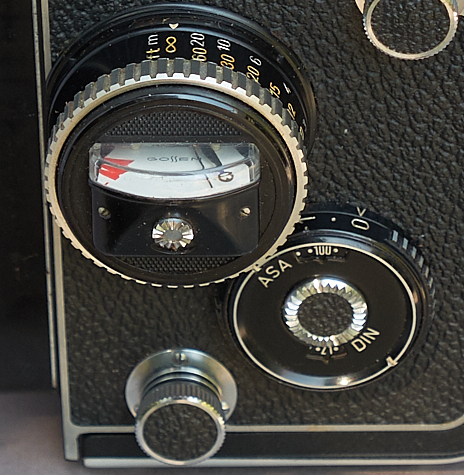 Lightmeter Rolleiflex 2.8 F 1351, Photo F.W. Stutterheim